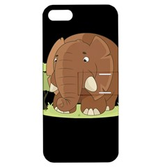 Cute Elephant Apple Iphone 5 Hardshell Case With Stand