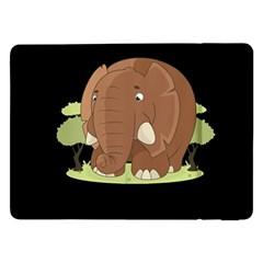 Cute Elephant Samsung Galaxy Tab Pro 12 2  Flip Case