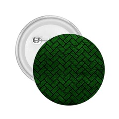 Brick2 Black Marble & Green Leather (r) 2 25  Buttons