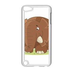 Cute Elephant Apple Ipod Touch 5 Case (white)