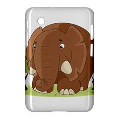 Cute Elephant Samsung Galaxy Tab 2 (7 ) P3100 Hardshell Case