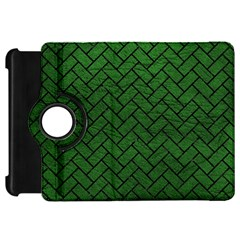Brick2 Black Marble & Green Leather (r) Kindle Fire Hd 7