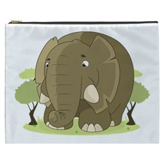 Cute Elephant Cosmetic Bag (xxxl)