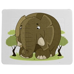 Cute Elephant Jigsaw Puzzle Photo Stand (rectangular)