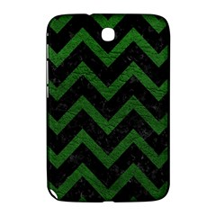 Chevron9 Black Marble & Green Leather Samsung Galaxy Note 8 0 N5100 Hardshell Case
