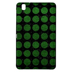 Circles1 Black Marble & Green Leather Samsung Galaxy Tab Pro 8 4 Hardshell Case