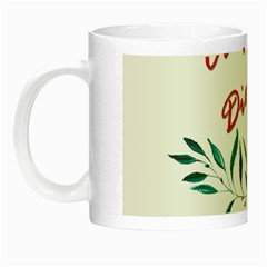 Carpe Diem  Night Luminous Mugs