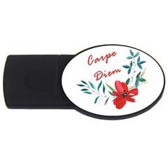 Carpe Diem  Usb Flash Drive Oval (4 Gb)