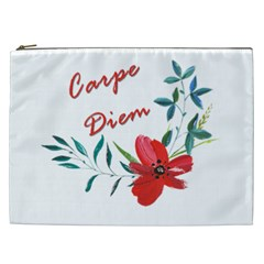 Carpe Diem  Cosmetic Bag (xxl)