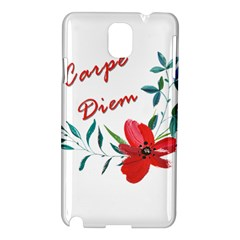 Carpe Diem  Samsung Galaxy Note 3 N9005 Hardshell Case
