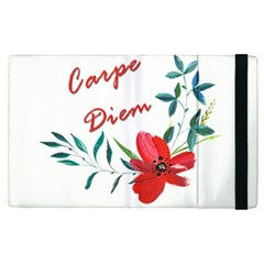 Carpe Diem  Apple Ipad Pro 12 9   Flip Case