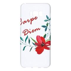 Carpe Diem  Samsung Galaxy S8 Plus Hardshell Case
