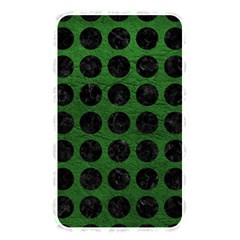 Circles1 Black Marble & Green Leather (r) Memory Card Reader