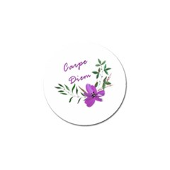 Carpe Diem  Golf Ball Marker (4 Pack)