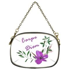 Carpe Diem  Chain Purses (two Sides)