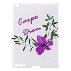 Carpe Diem  Apple Ipad 3/4 Hardshell Case (compatible With Smart Cover)