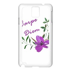 Carpe Diem  Samsung Galaxy Note 3 N9005 Case (white)