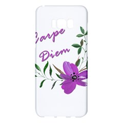 Carpe Diem  Samsung Galaxy S8 Plus Hardshell Case