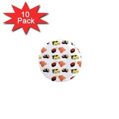 Sushi Pattern 1  Mini Magnet (10 Pack)