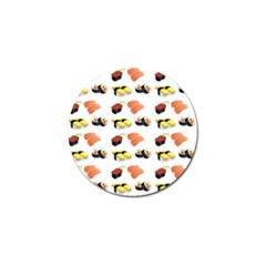 Sushi Pattern Golf Ball Marker (4 Pack)
