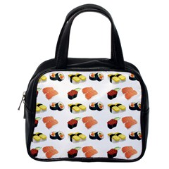 Sushi Pattern Classic Handbags (one Side)