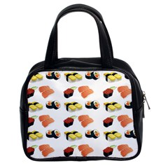 Sushi Pattern Classic Handbags (2 Sides)