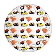 Sushi Pattern Ornament (round Filigree)