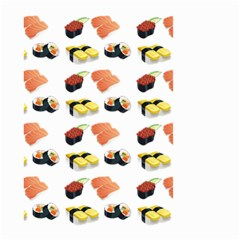 Sushi Pattern Small Garden Flag (two Sides)