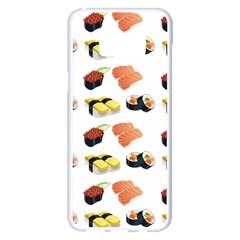 Sushi Pattern Samsung Galaxy S8 Plus White Seamless Case