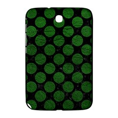Circles2 Black Marble & Green Leather Samsung Galaxy Note 8 0 N5100 Hardshell Case