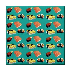 Sushi Pattern Tile Coasters