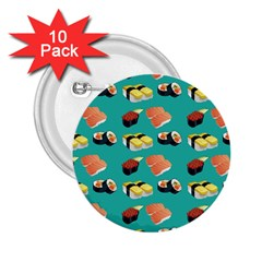 Sushi Pattern 2 25  Buttons (10 Pack)
