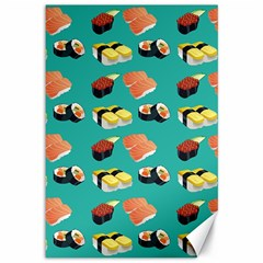 Sushi Pattern Canvas 12  X 18
