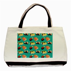 Sushi Pattern Basic Tote Bag (two Sides)