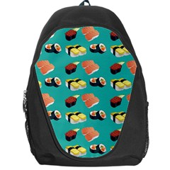Sushi Pattern Backpack Bag