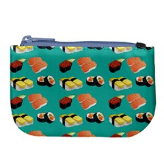 Sushi Pattern Large Coin Purse
