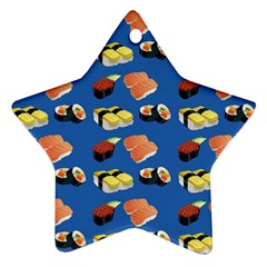 Sushi Pattern Ornament (star)