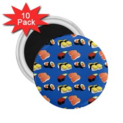 Sushi Pattern 2 25  Magnets (10 Pack)