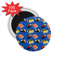 Sushi Pattern 2 25  Magnets (100 Pack)