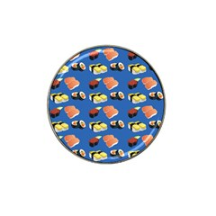 Sushi Pattern Hat Clip Ball Marker (10 Pack)