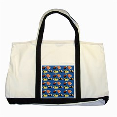 Sushi Pattern Two Tone Tote Bag