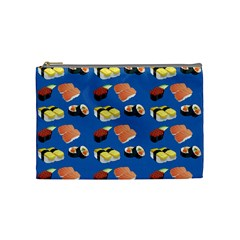 Sushi Pattern Cosmetic Bag (medium)