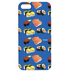 Sushi Pattern Apple Iphone 5 Hardshell Case With Stand