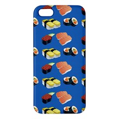 Sushi Pattern Apple Iphone 5 Premium Hardshell Case