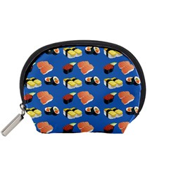 Sushi Pattern Accessory Pouches (small)