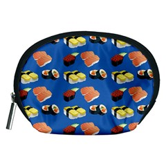 Sushi Pattern Accessory Pouches (medium)