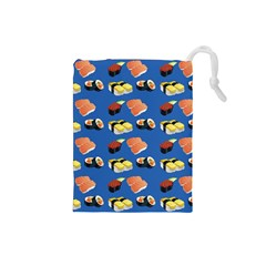 Sushi Pattern Drawstring Pouches (small)
