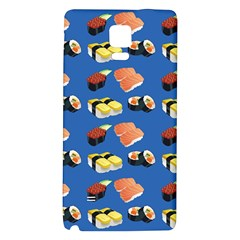 Sushi Pattern Galaxy Note 4 Back Case