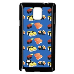 Sushi Pattern Samsung Galaxy Note 4 Case (black)