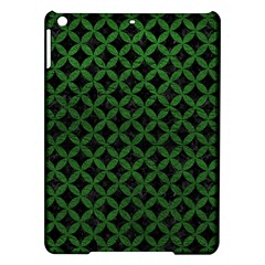 Circles3 Black Marble & Green Leather Ipad Air Hardshell Cases